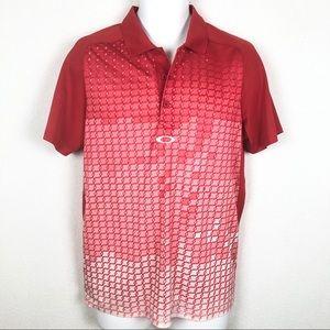 Oakley Mens Hydrolix Golf Polo Shirt